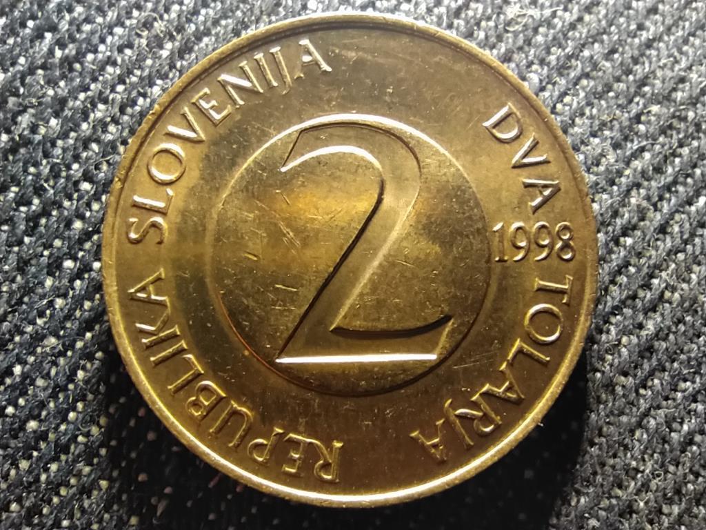 Szlovénia fecske 2 tolar 1998
