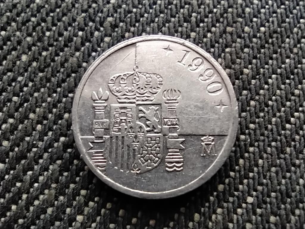 Spanyolország I. János Károly (1975-2014) 1 Peseta 1990 M