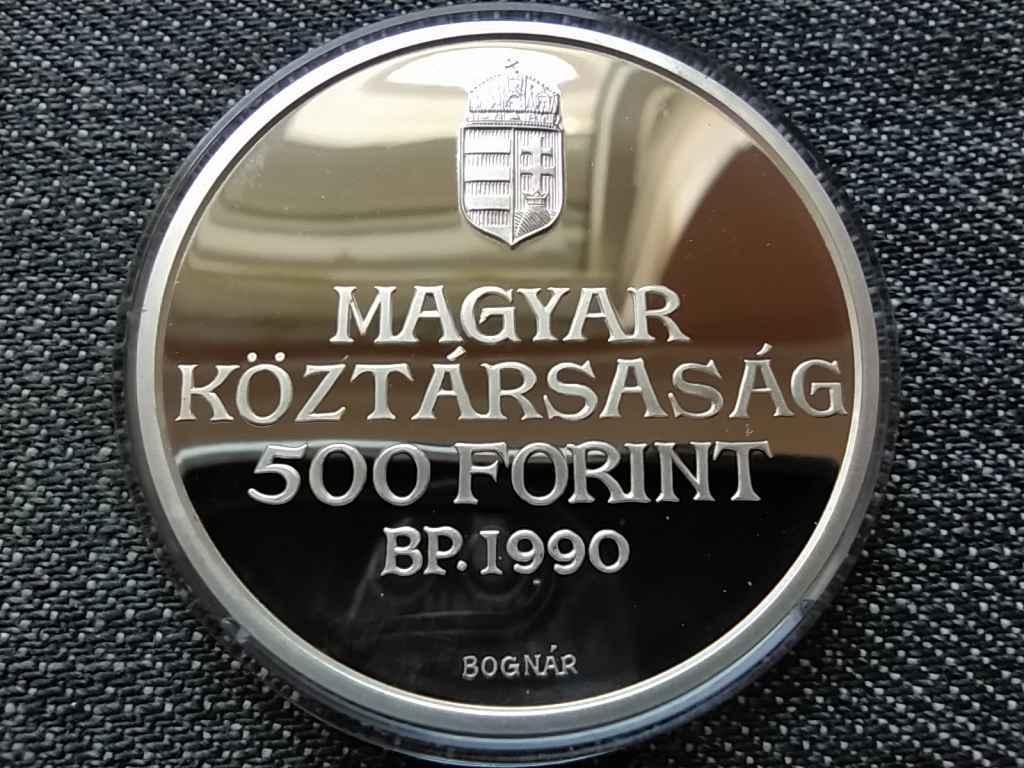 Kölcsey Ferenc születésének 200. évfordulója .900 ezüst 500 Forint 1990 BP PP