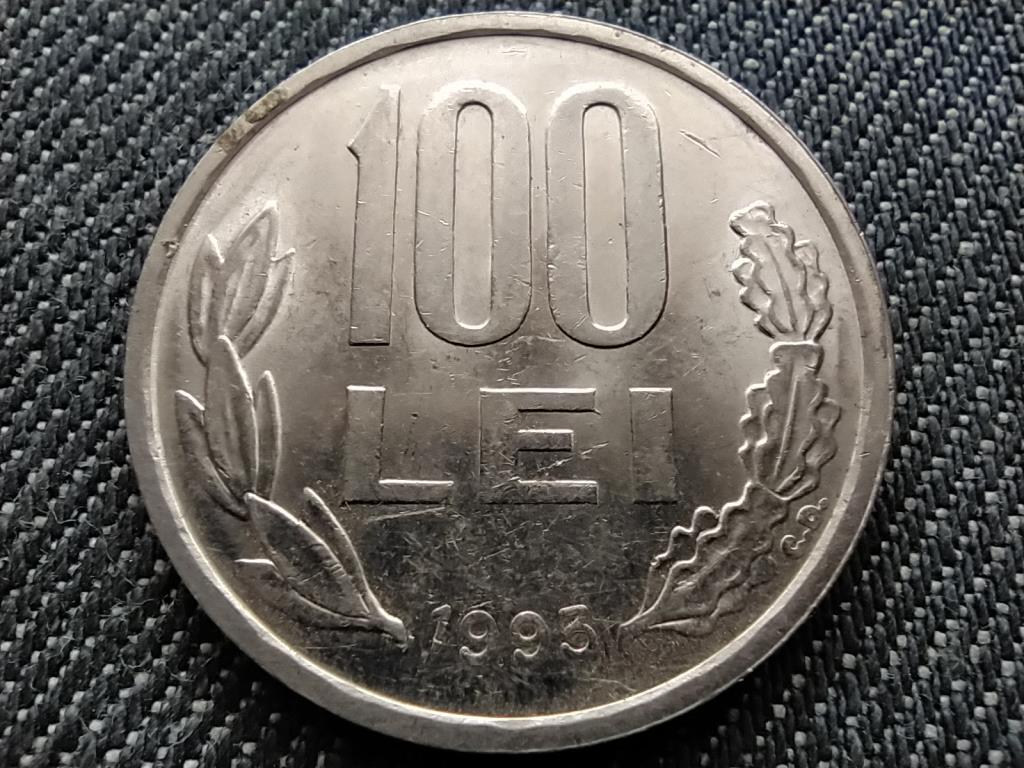 Románia Köztársaság (1989-napjainkig) 100 Lej 1993