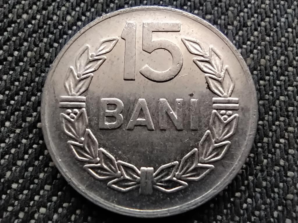 Románia Szocialista Köztársaság (1965-1989) 15 Bani 1975