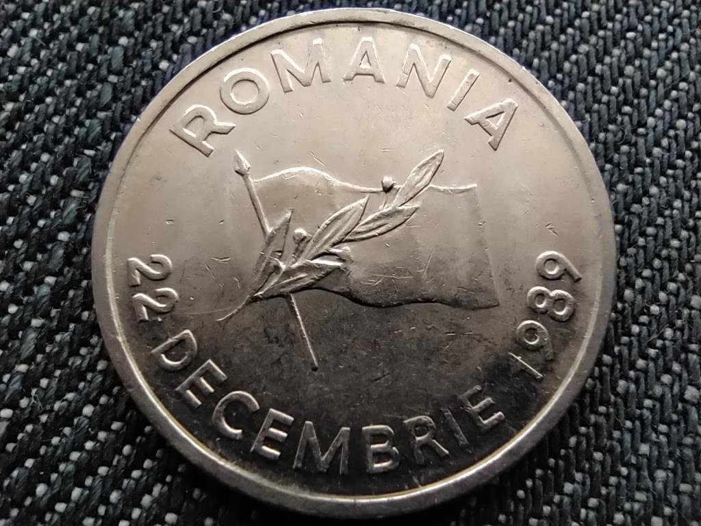Románia Forradalom évfordulója 10 Lej 1992