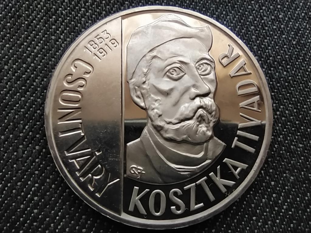 Csontváry Kosztka Tivadar .640 ezüst 200 Forint 1977 BP PP