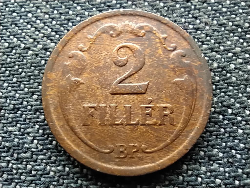Háború előtti 2 fillér 1940 BP