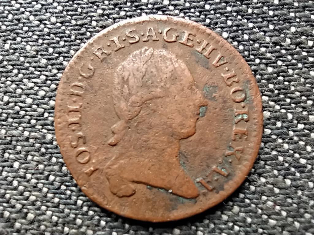 Ausztria II. József (1780-1790) 1/4 Krajcár 1781 A
