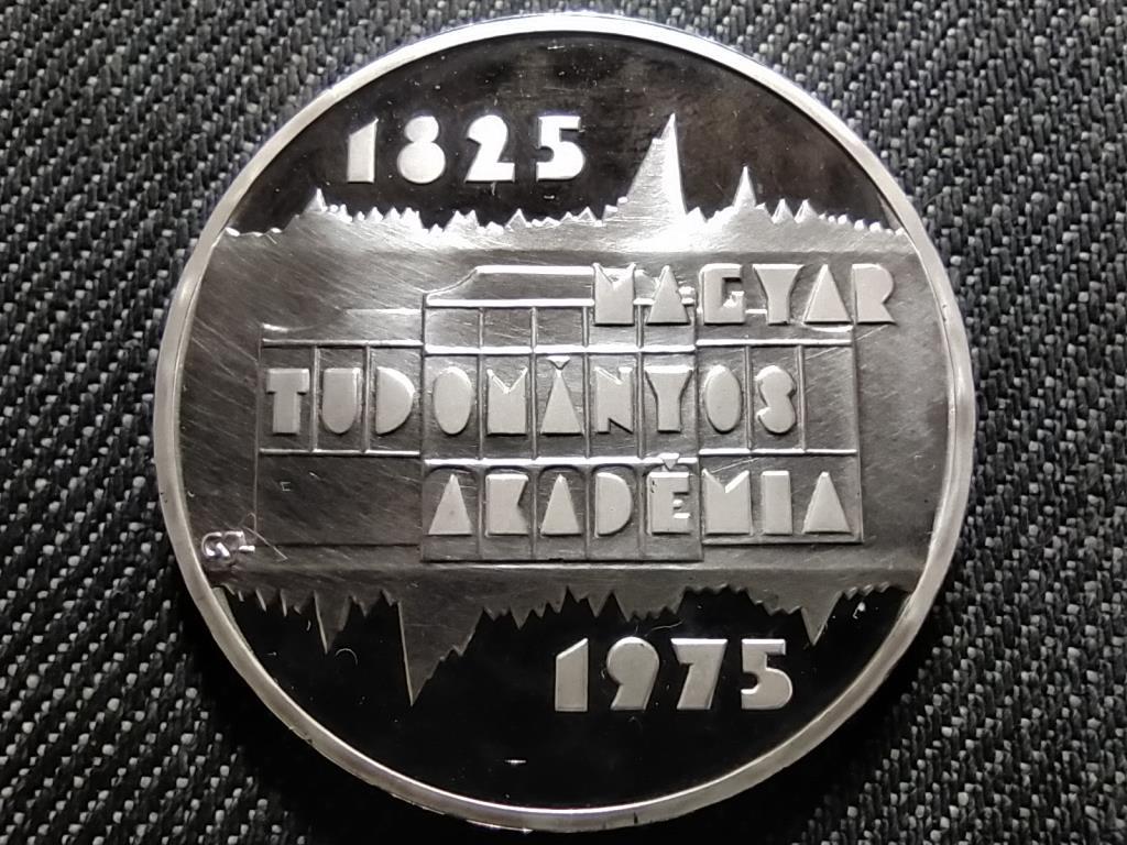 A Magyar Tudományos Akadémia megalakulásának 150. évfordulójára .640 ezüst 200 Forint 1975 BP PP