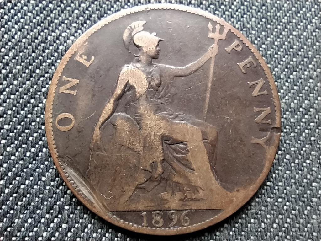 Anglia Viktória (1837-1901) 1 Penny 1896