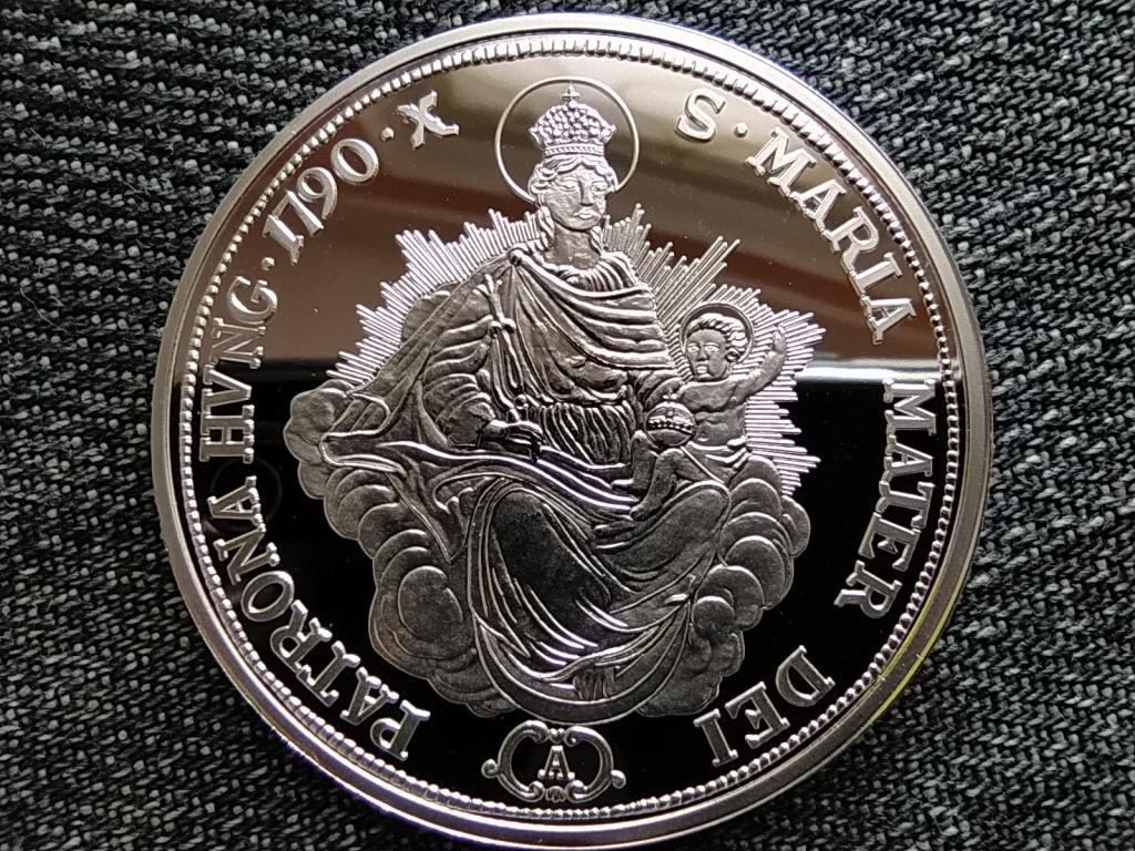 Magyar tallérok utánveretben II. Lipót tallérja 1790 .999 ezüst PP