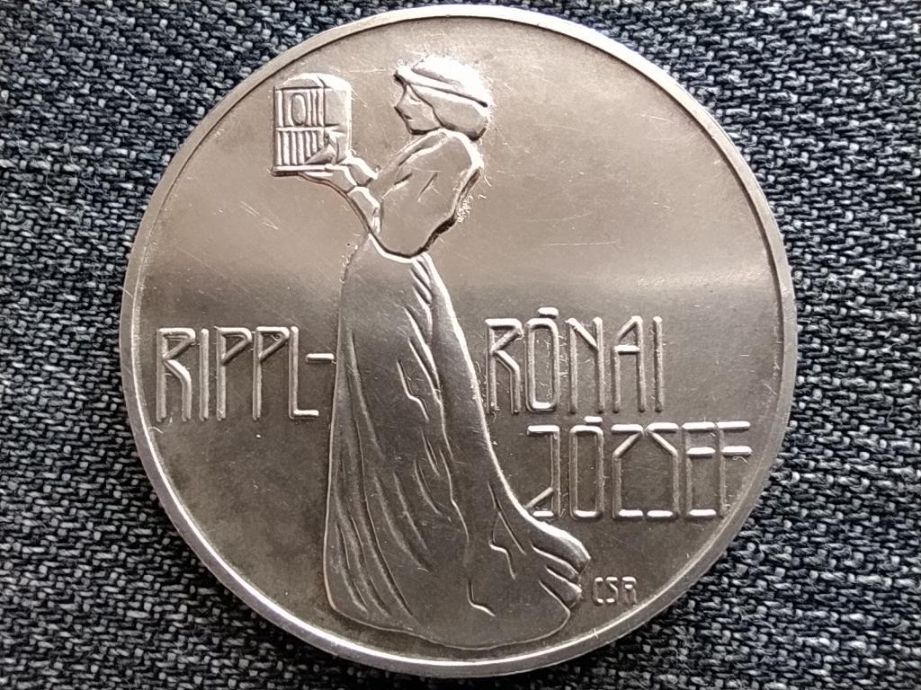Rippl-Rónai József .640 ezüst 200 Forint 1977 BP BU