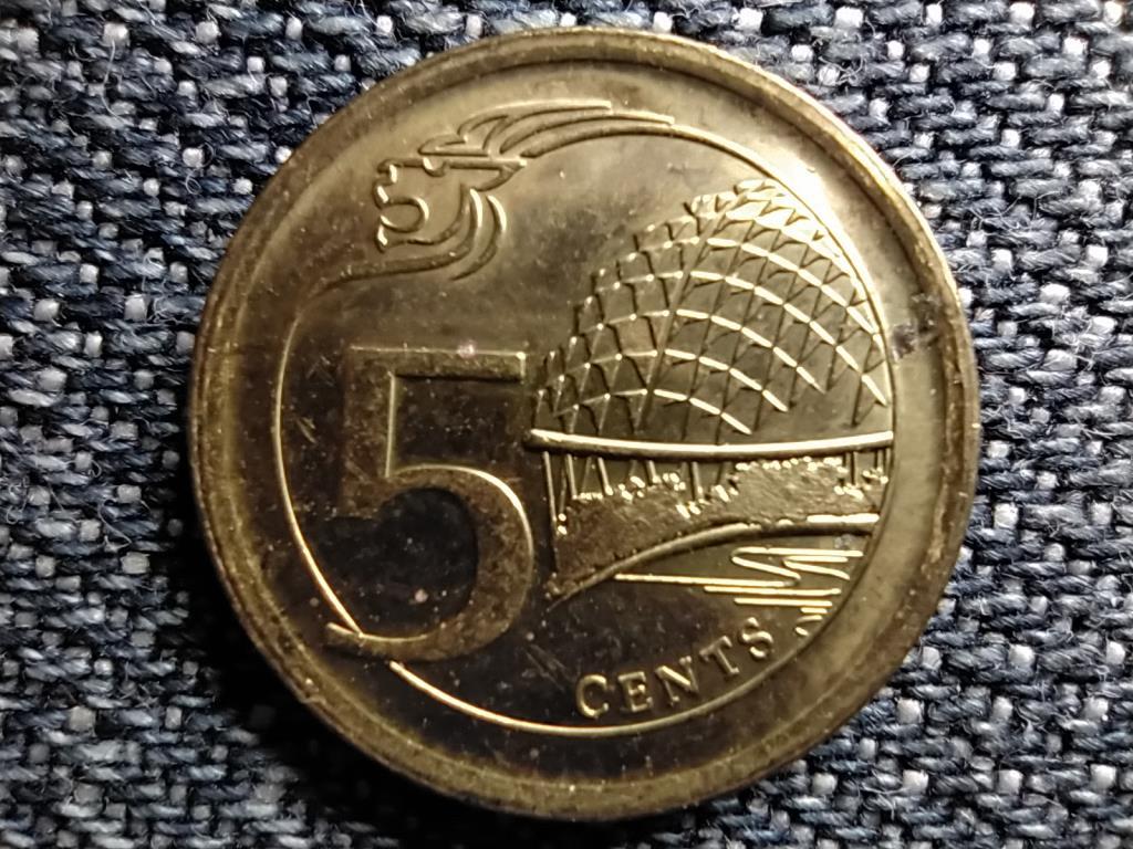 Szingapúr 5 cent 2014