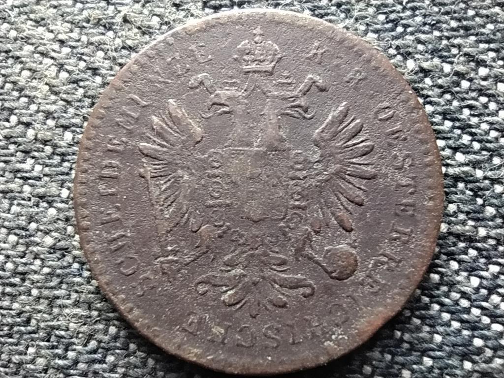 Ausztria Ferenc József 1 Krajcár 1860 E