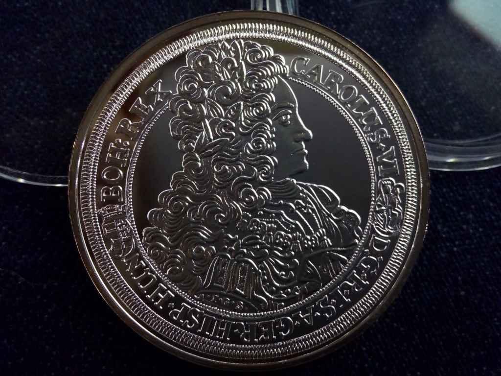 III. Károly tallérja 1715 - Magyar tallérok utánveretben - Érem Művészeti Intézet