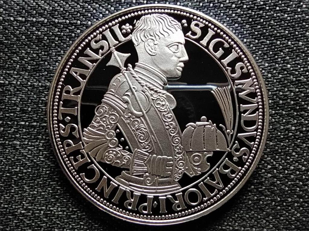 Magyar tallérok utánveretben Báthory Zsigmond tallérja 1589 .999 ezüst PP