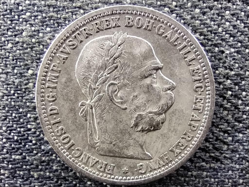 Ausztria Ferenc József Osztrák-Magyar .835 ezüst 1 Korona 1894