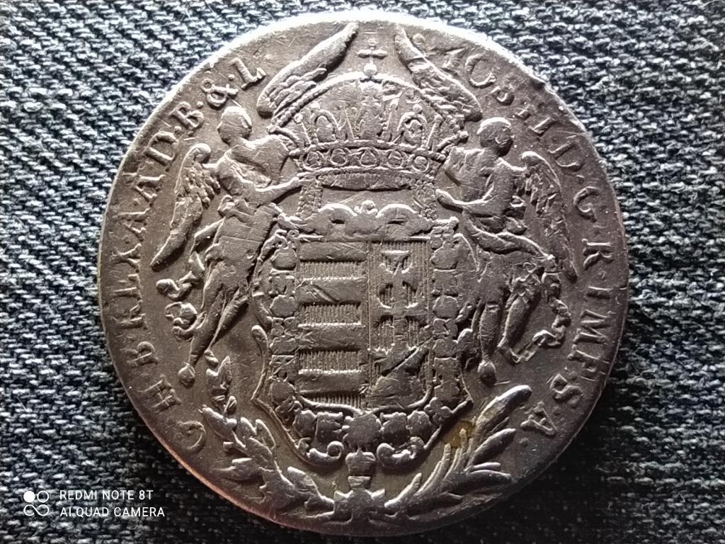 II. József (1780-1790) .833 ezüst 1 Tallér 1782 B