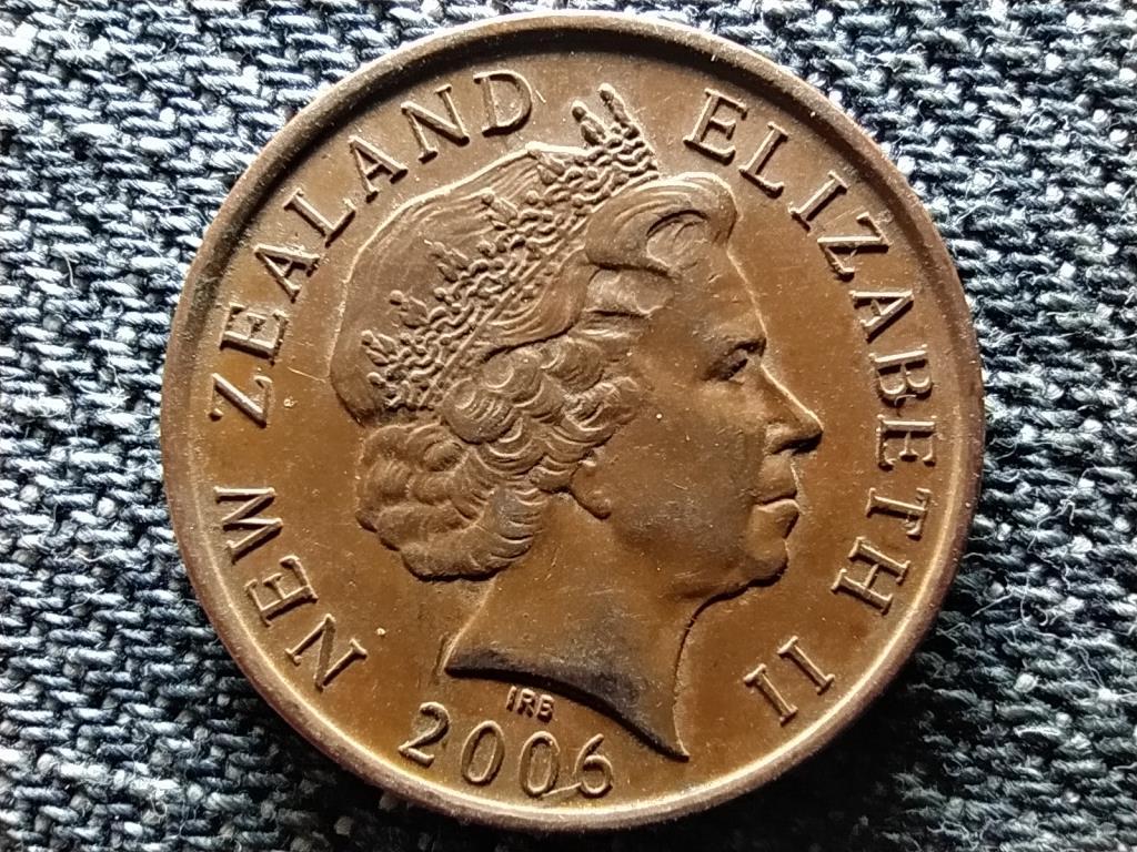 Új-Zéland II. Erzsébet maori maszk 10 Cent 2006