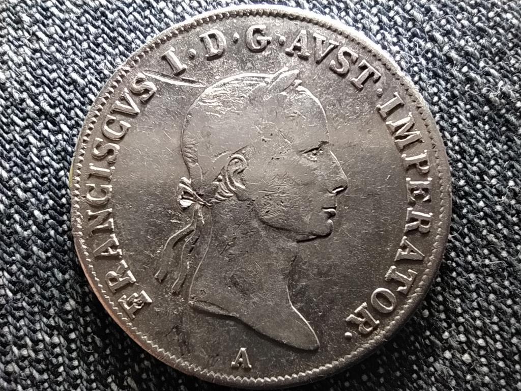 Ausztria II. Ferenc .583 ezüst 20 Krajcár 1834 A