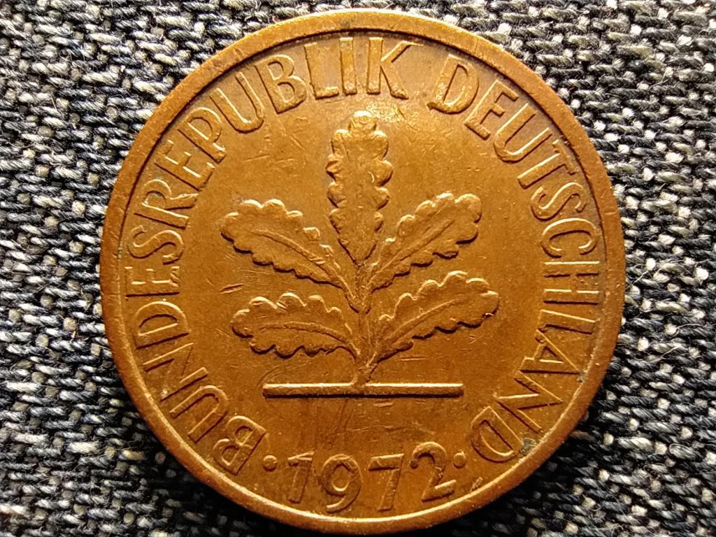 Németország NSZK (1949-1990) 2 Pfennig 1972 G