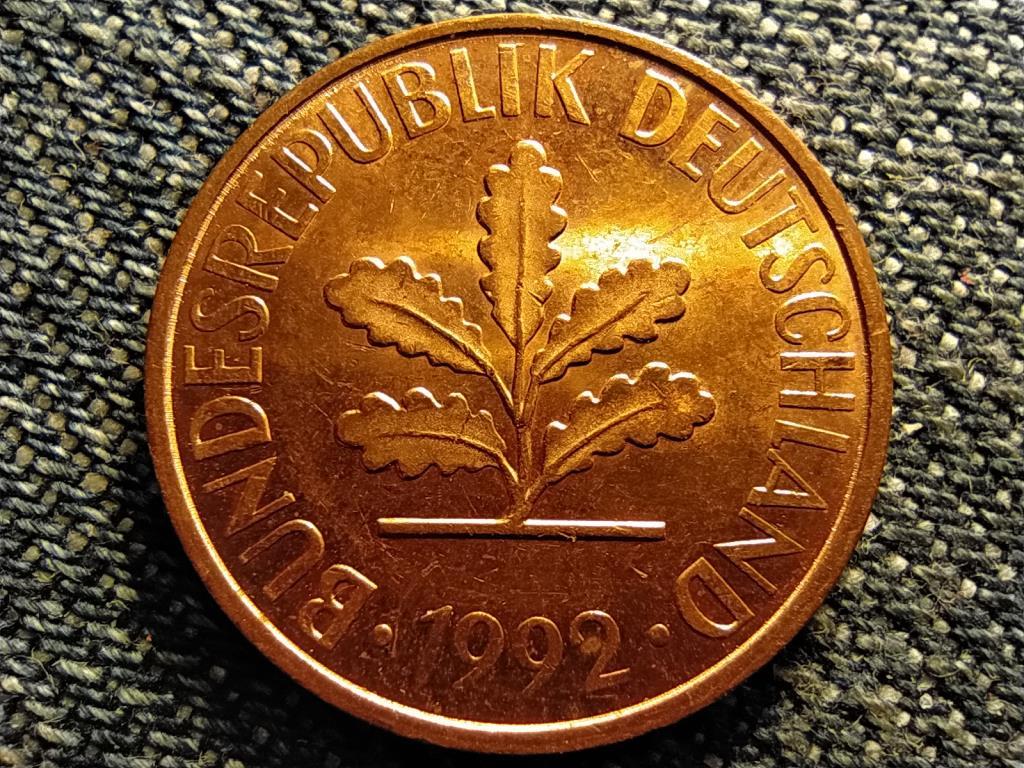 Németország 2 Pfennig 1992 J