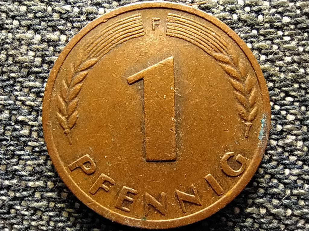 Németország NSZK (1949-1990) 1 Pfennig 1950 F