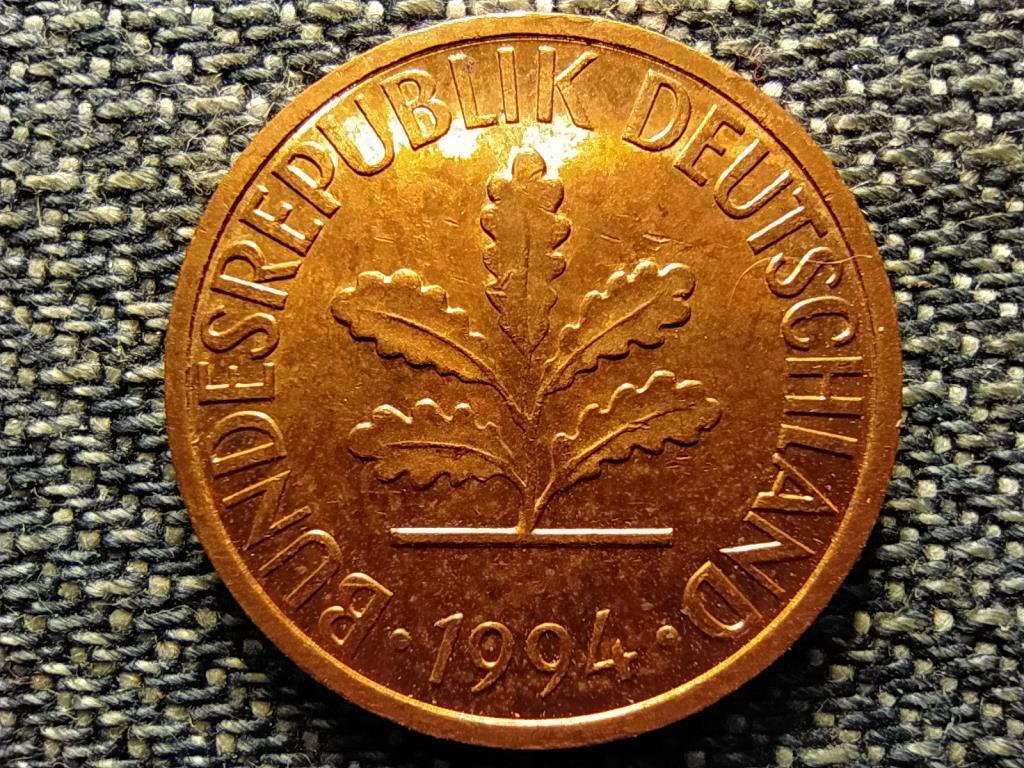 Németország 1 Pfennig 1994 D