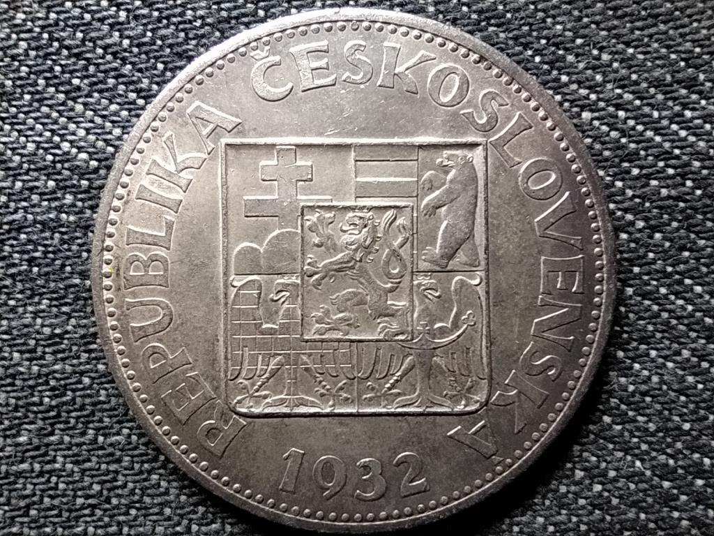 Csehszlovákia .700 ezüst 10 Korona 1932