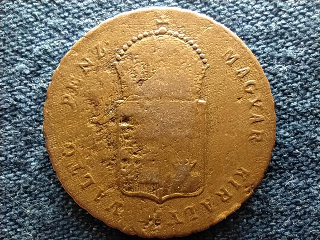 Szabadságharc 1 Krajcár 1849 NB
