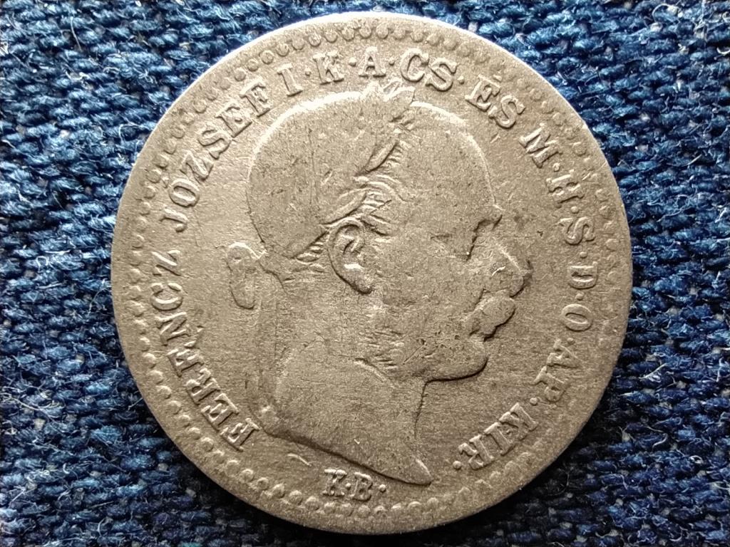 Osztrák-Magyar Forint .400 ezüst 10 Krajcár 1870 KB