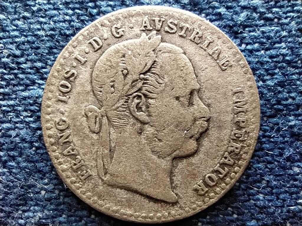 Ausztria Ferenc József (1848-1916) .400 ezüst 10 Krajcár 1868