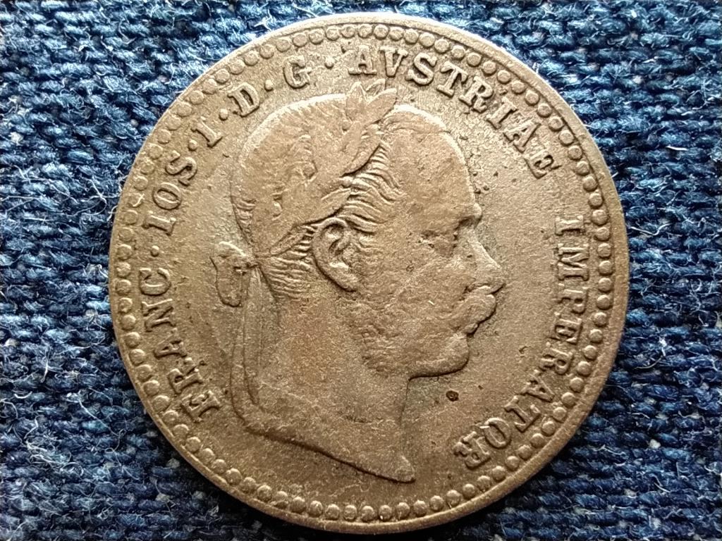 Ausztria Ferenc József (1848-1916) .400 ezüst 10 Krajcár 1869