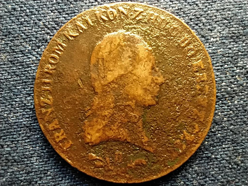 Ausztria II. Ferenc (1792-1835) 6 Krajcár 1800 B