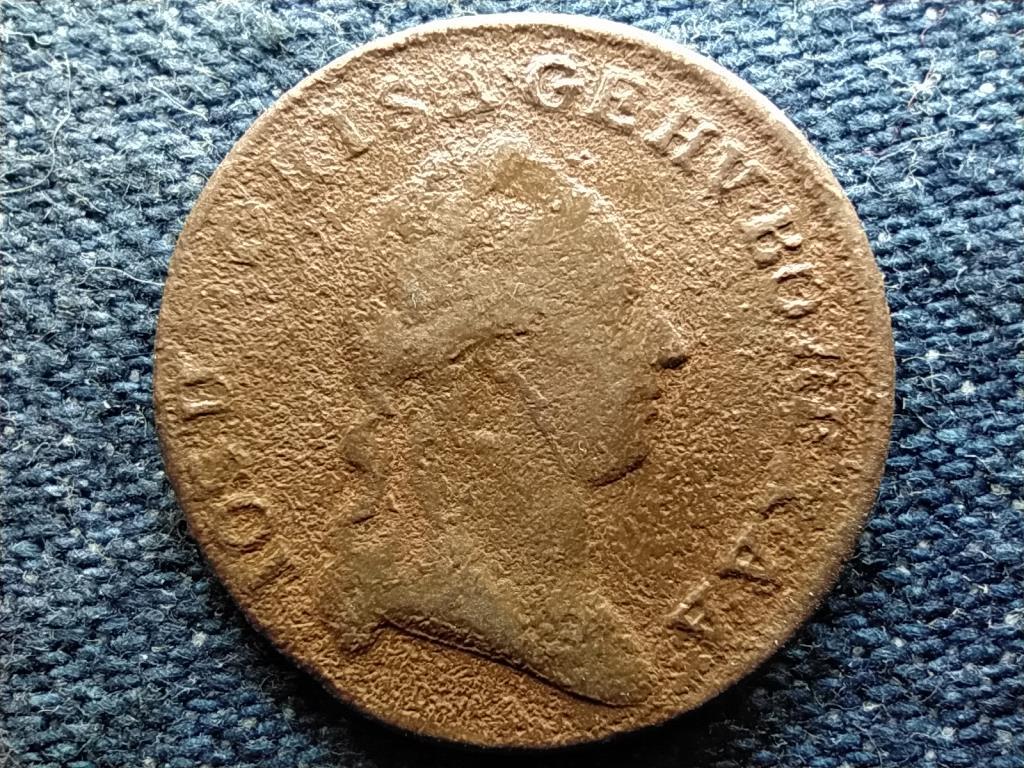 Ausztria II. József (1780-1790) 1/2 Krajcár 1780 W