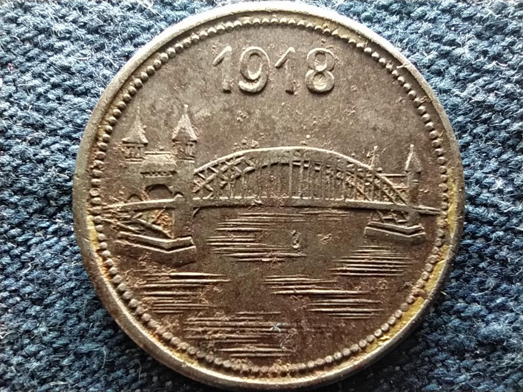 Németország Bonn-Siegkreis 10 Pfennig szükségpénz 1918