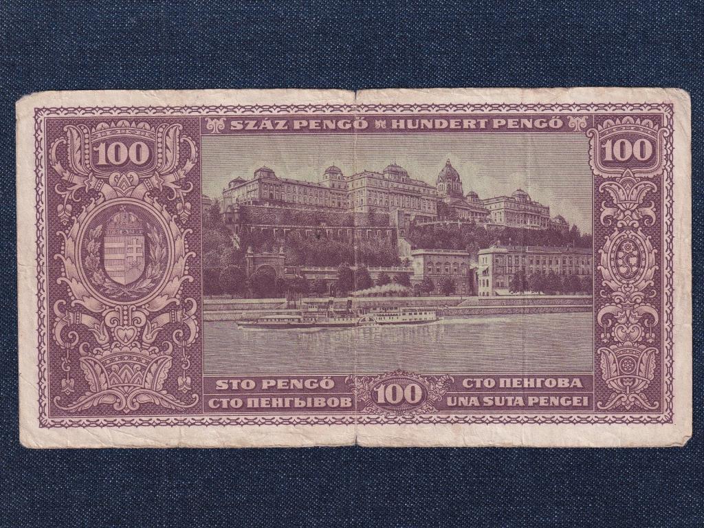 Háború utáni inflációs sorozat (1945-1946) 100 Pengő bankjegy 1945
