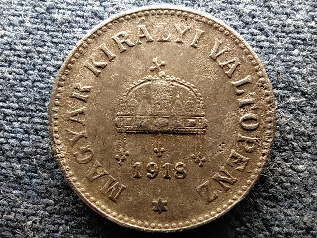 Osztrák-Magyar vas 10 fillér 1918 KB