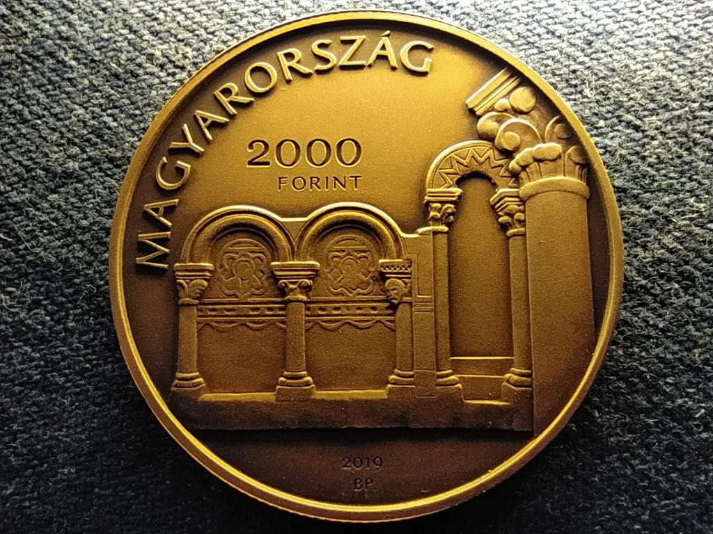 Esztergom, Várhegy és Víziváros Nemzeti Emlékhely 2000 Forint 2019 BP