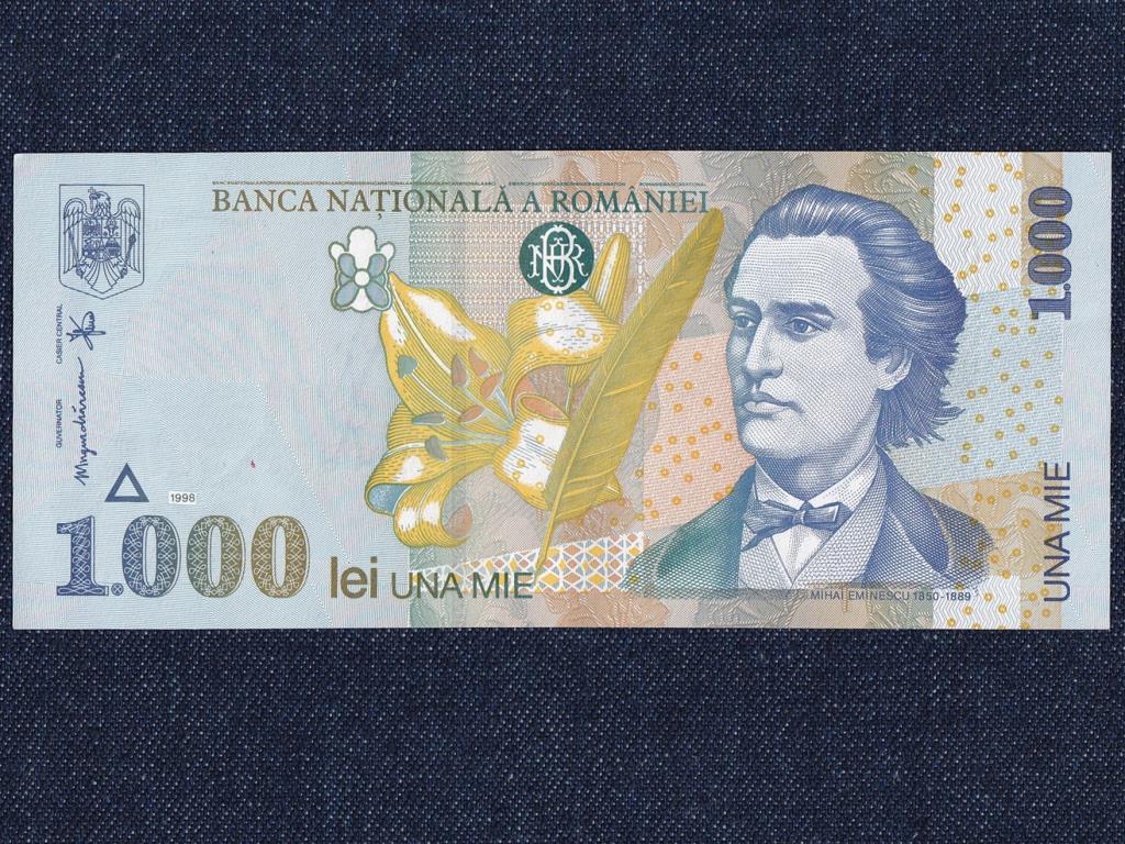Románia 1000 Lej bankjegy 1998 UNC