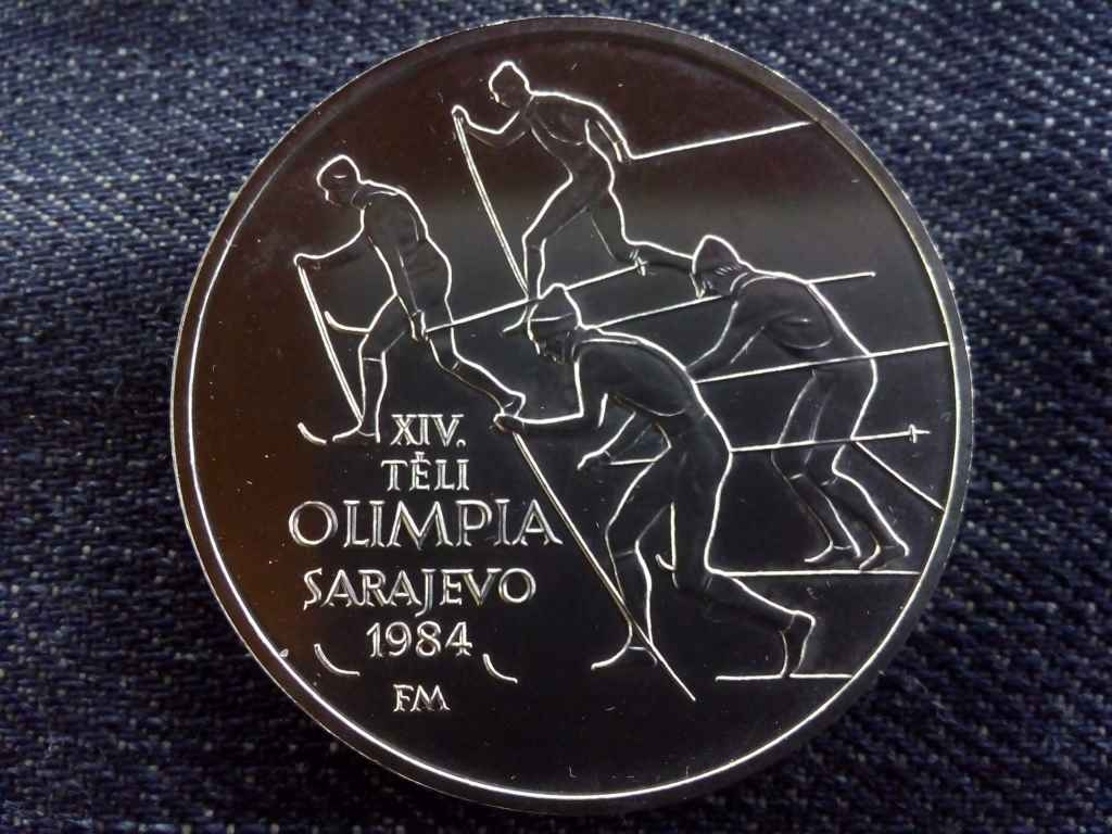 XIV. Téli Olimpia Szarajevo ezüst 500 Forint 1984