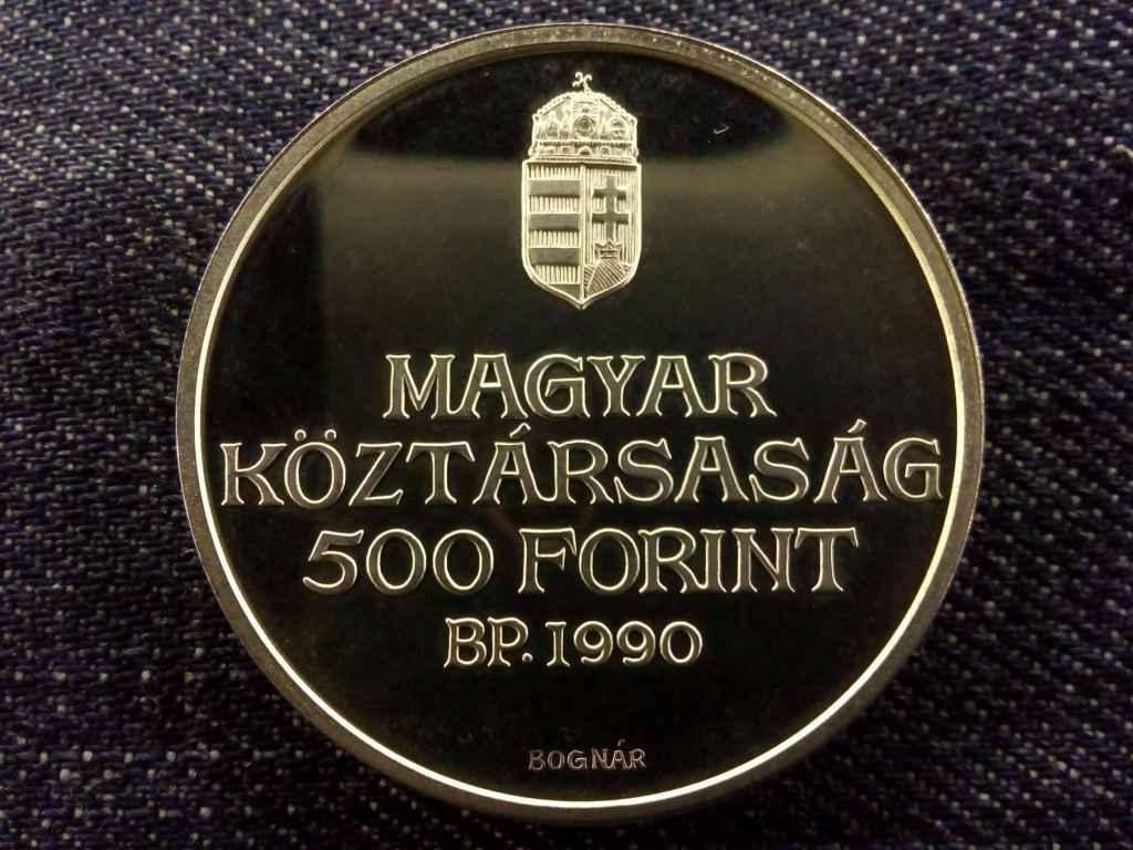 Kölcsey Ferenc ezüst 500 Forint 1990 PP