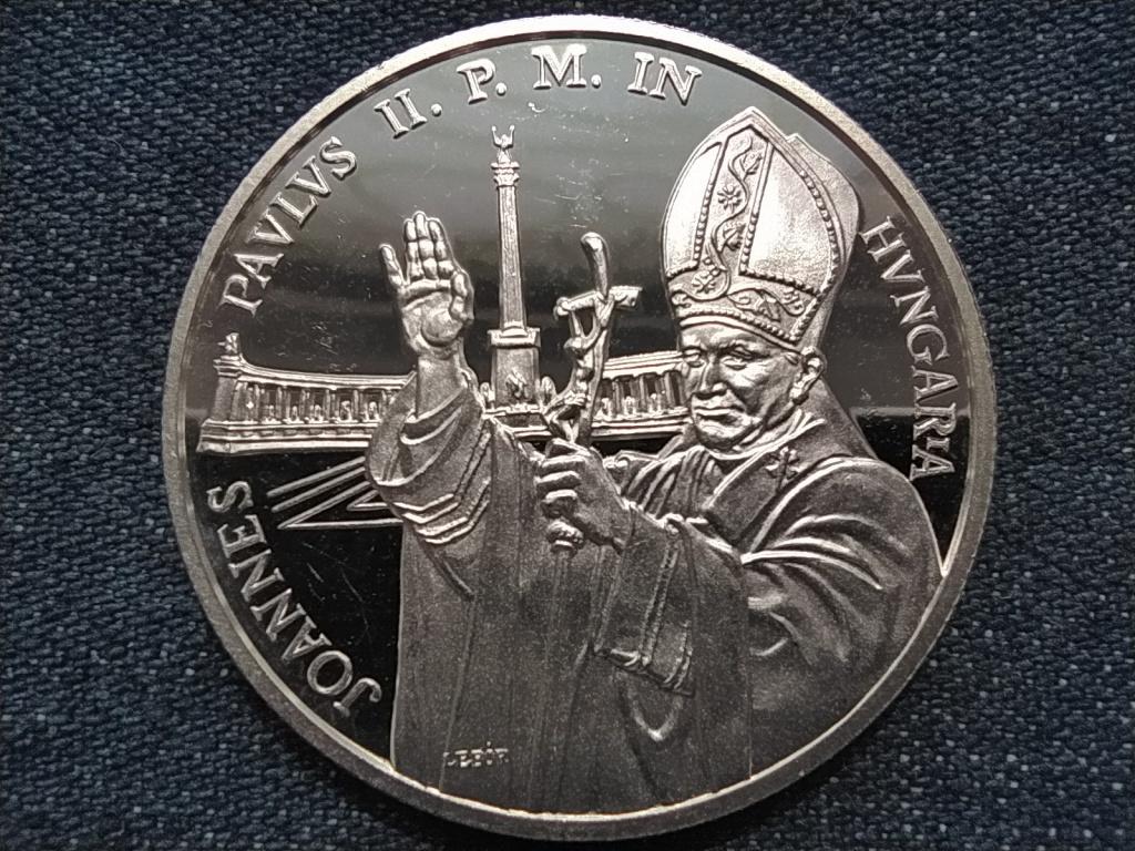 II. János Pál Pápa látogatása ezüst 500 Forint 1991 PP