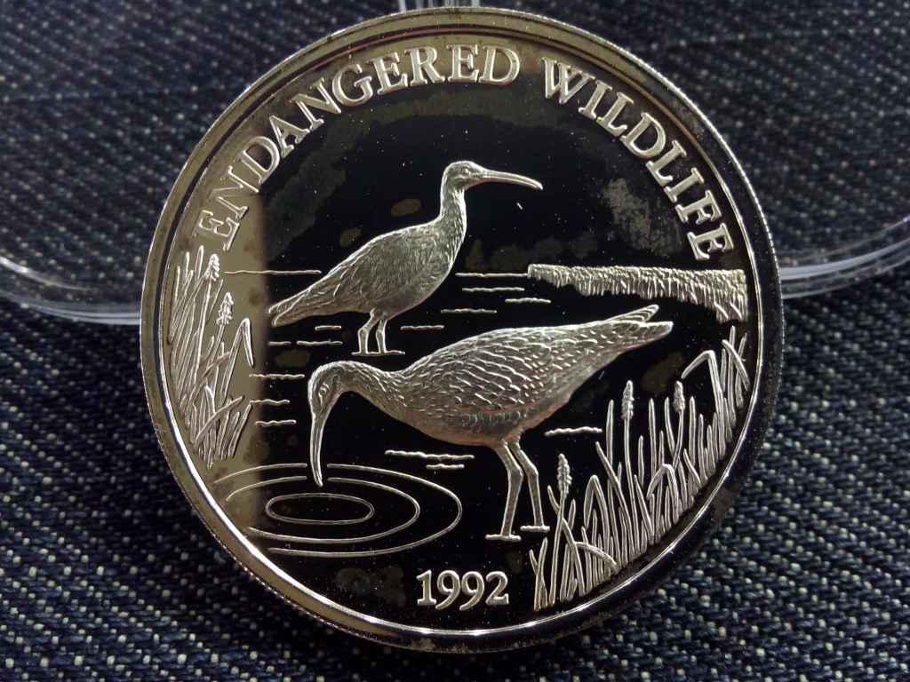 Szamoa - Ezüst 10 Dollár 1992 - Veszélyeztetett állatvilág