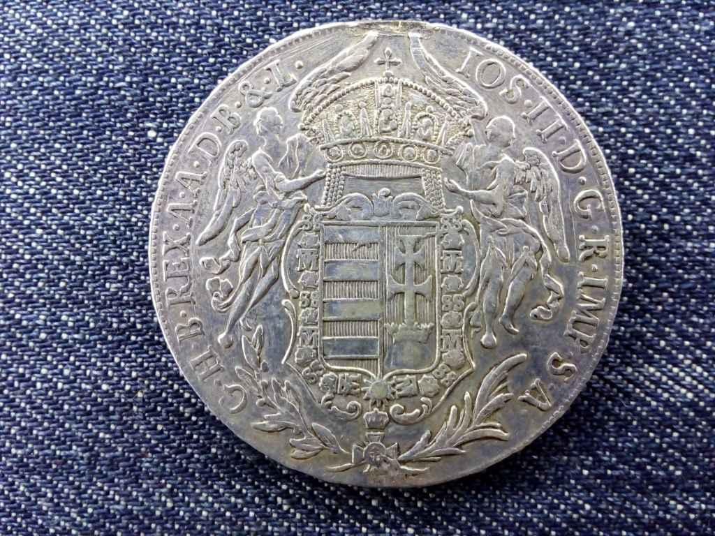 II. József Madonnás ezüst tallér 1782 B