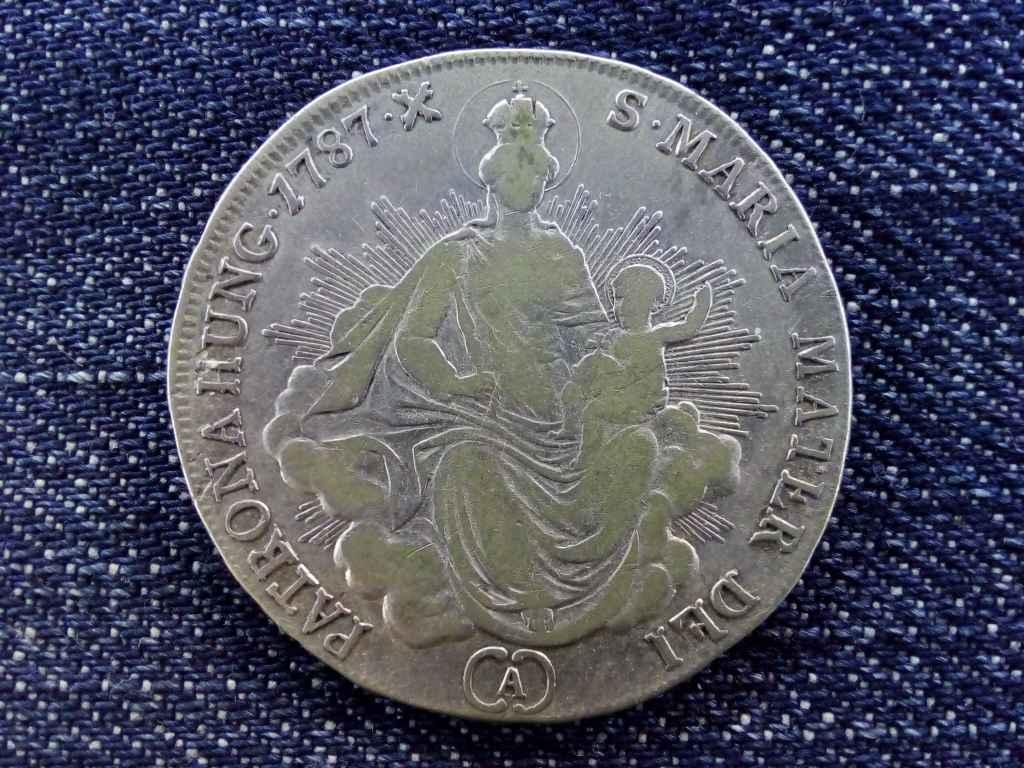 II. József ezüst 1/2 Tallér 1787 A