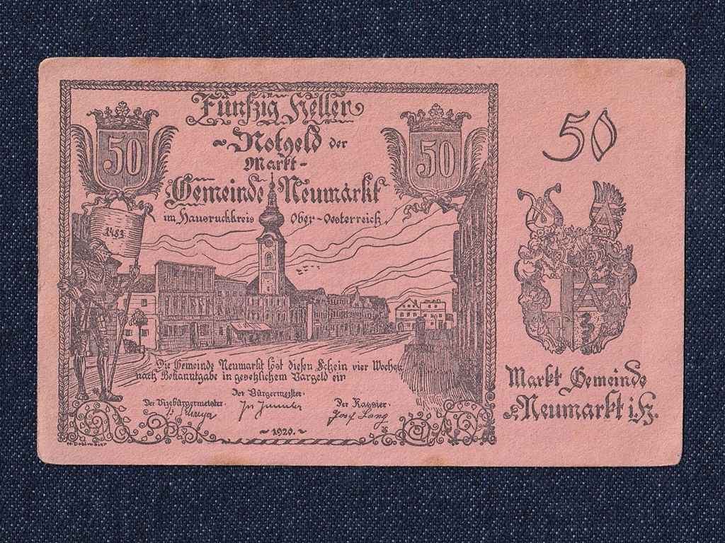 1 db osztrák szükségpénz 1920