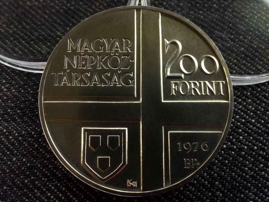 Munkácsy Mihály ezüst 200 Forint 1976