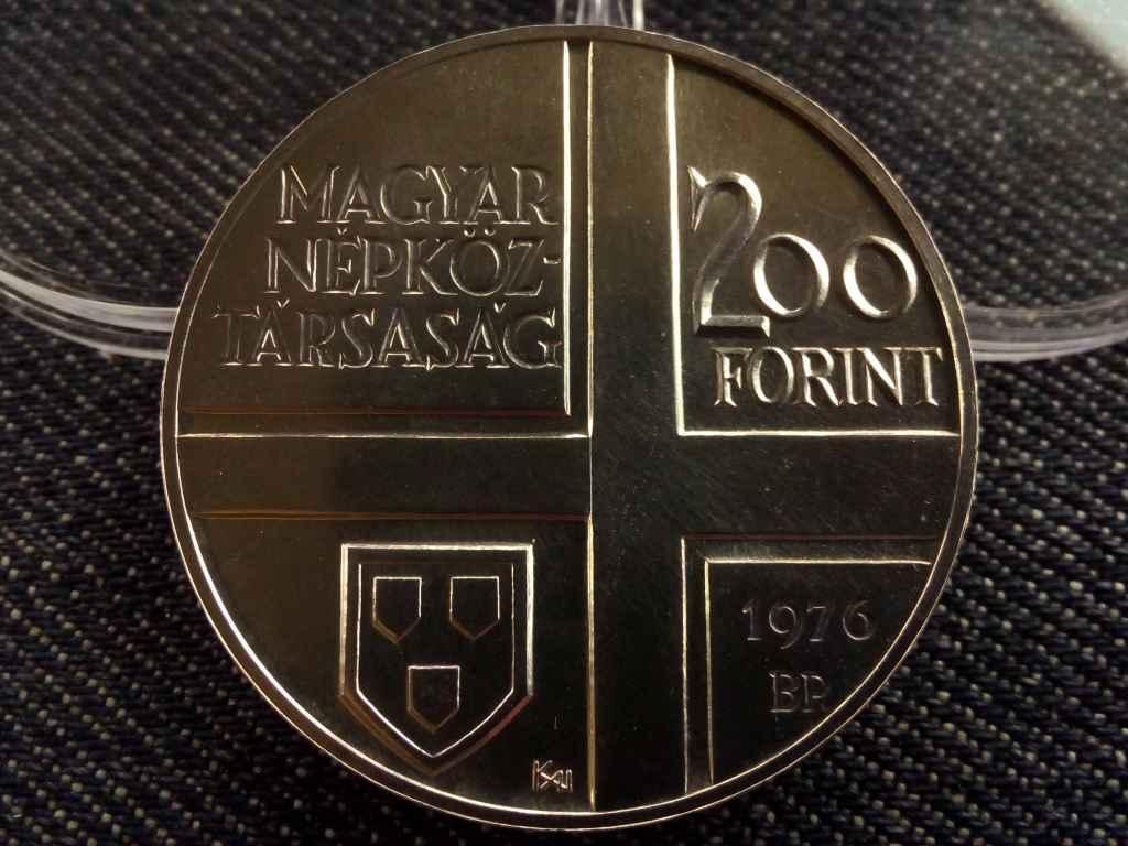Derkovits Gyula ezüst 200 Forint 1976