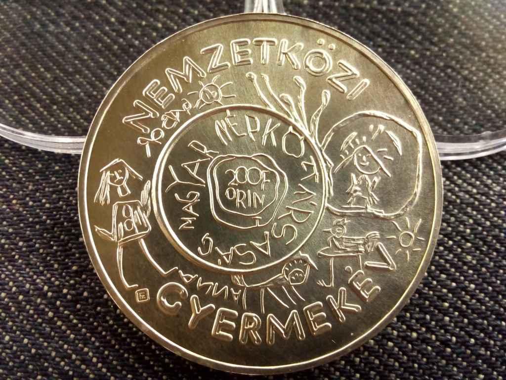 Nemzetközi Gyermekév ezüst 200 Forint 1979