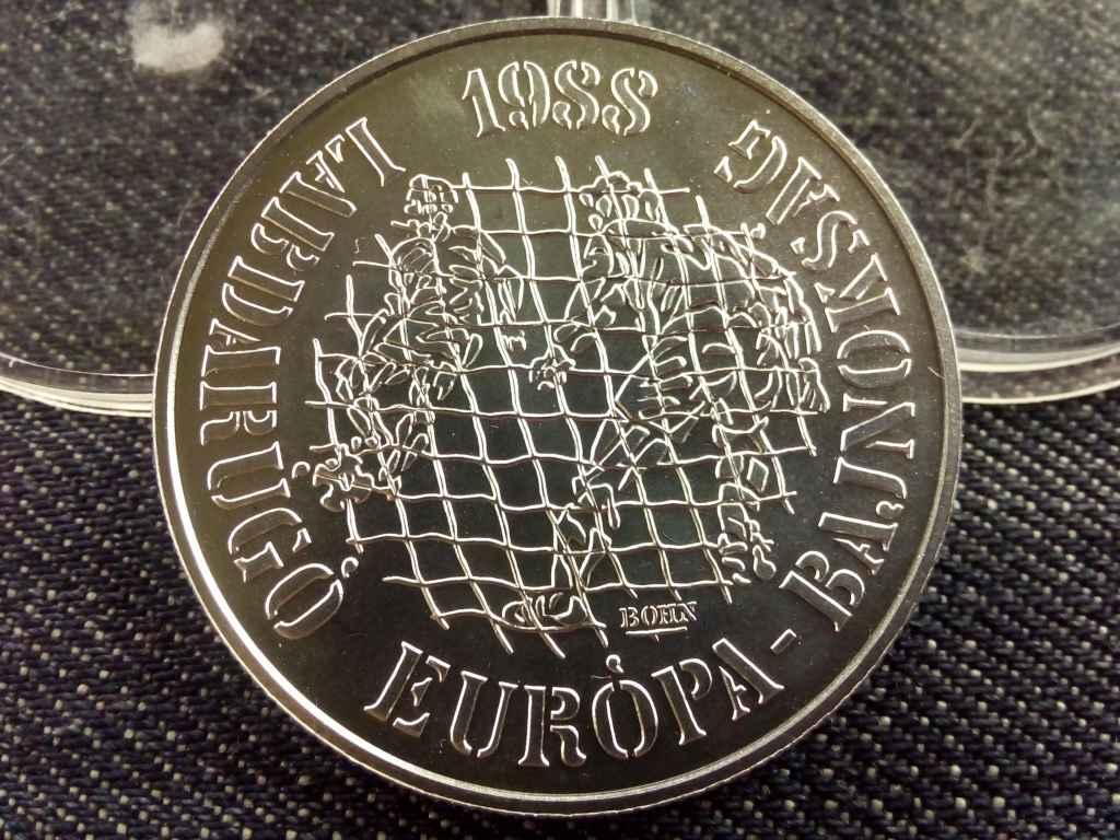 Labdarúgó Európa-bajnokság 1988 München ezüst 500 Forint