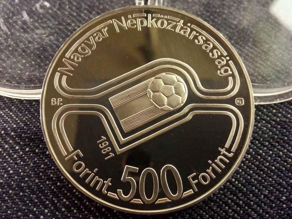 Spanyol Labdarúgó VB 1982 ezüst 500 Forint 1981
