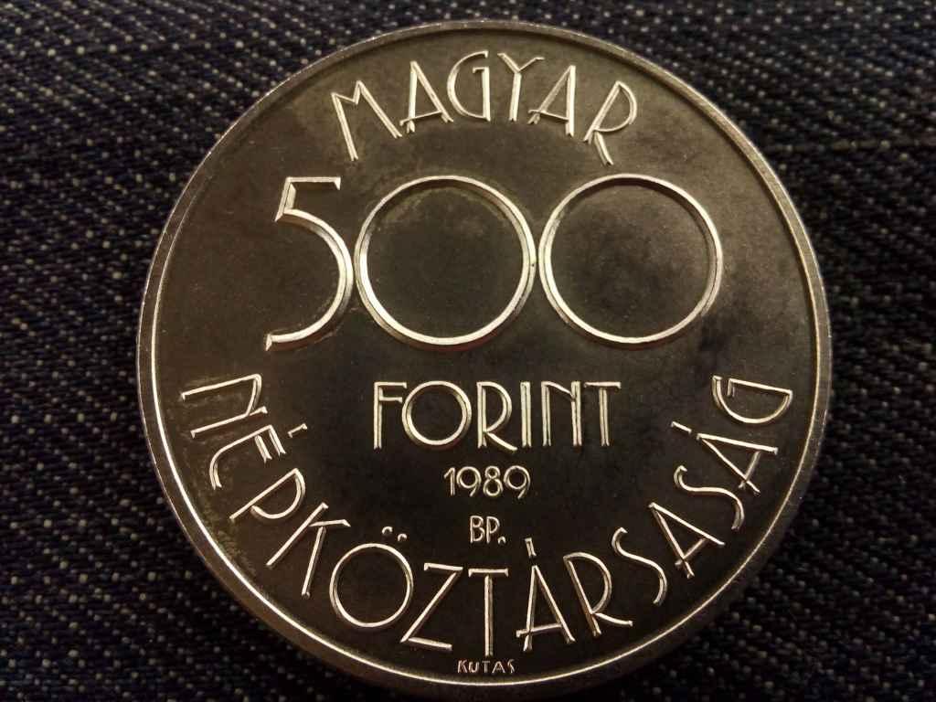Labdarúgó VB Olaszország ezüst 500 Forint 1990